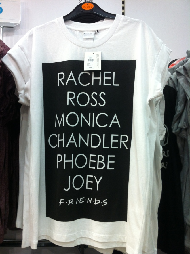 Friends t-shirt in Primark