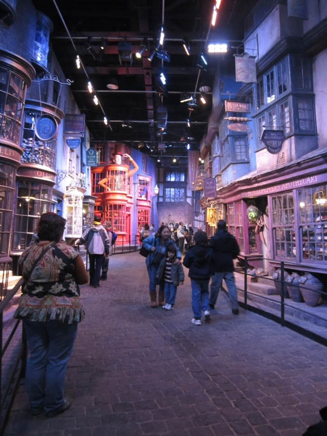 Harry Potter set in the Studio Tour