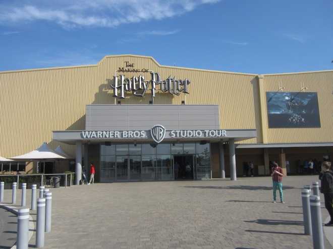 Entrance to the Harry Potter Studio Tour at Warner Brothers Leavesden