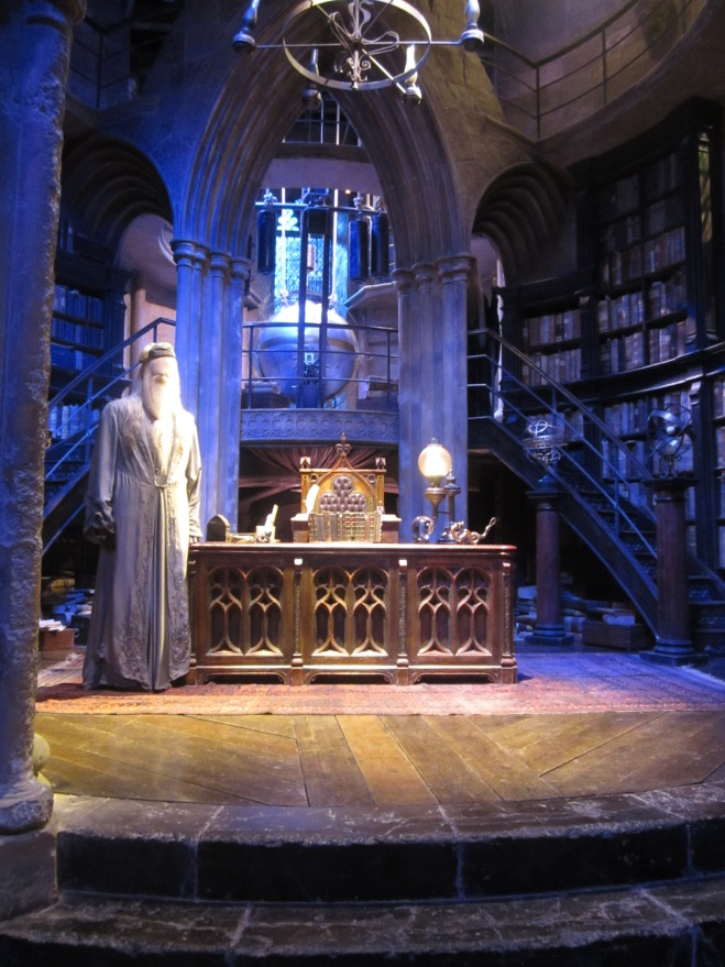Dumbledore's Office at the Harry Potter Studio Tour