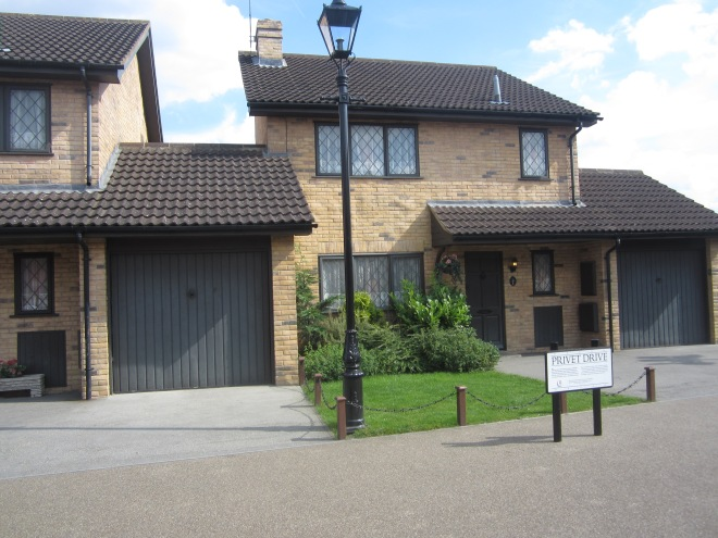 Harry Potter's house at Privet Drive